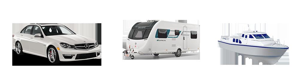 Car-caravan-boat